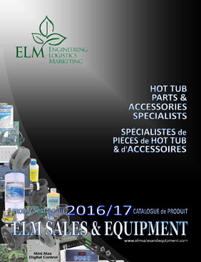 ELM Sales and Equipment Spa Parts Catalogue 2017